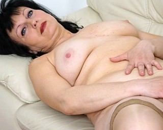 This horny housewife loves to masturbate