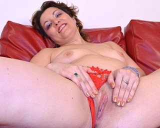 image Riding her dildo and squirt