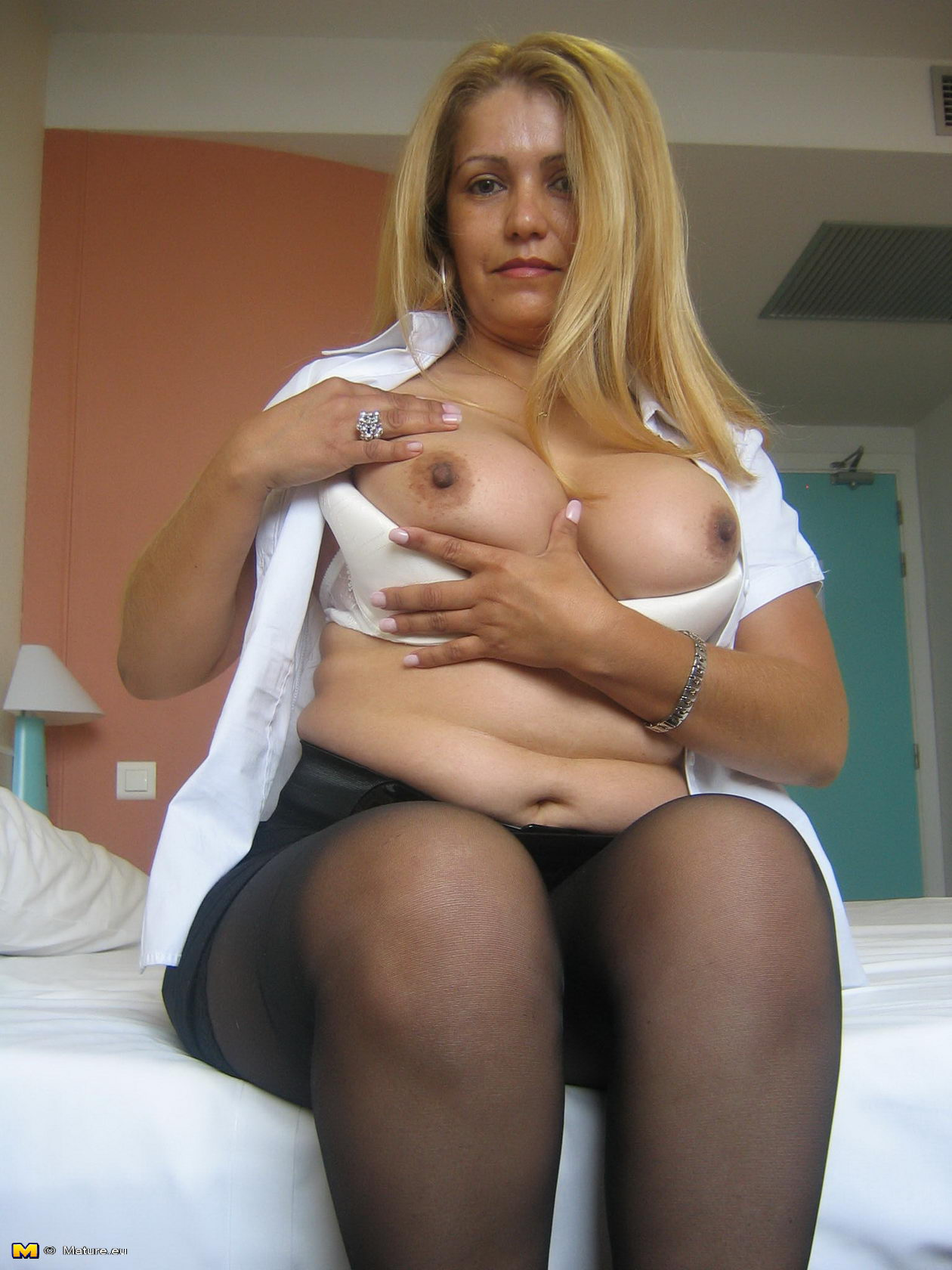 Mature loves her black solid sausage - 96 part 8