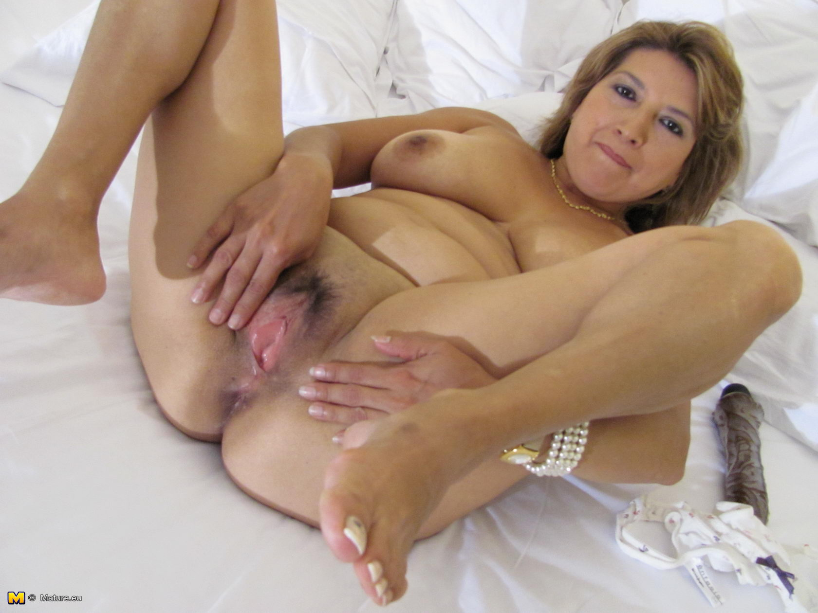 Wet old mature vaginas