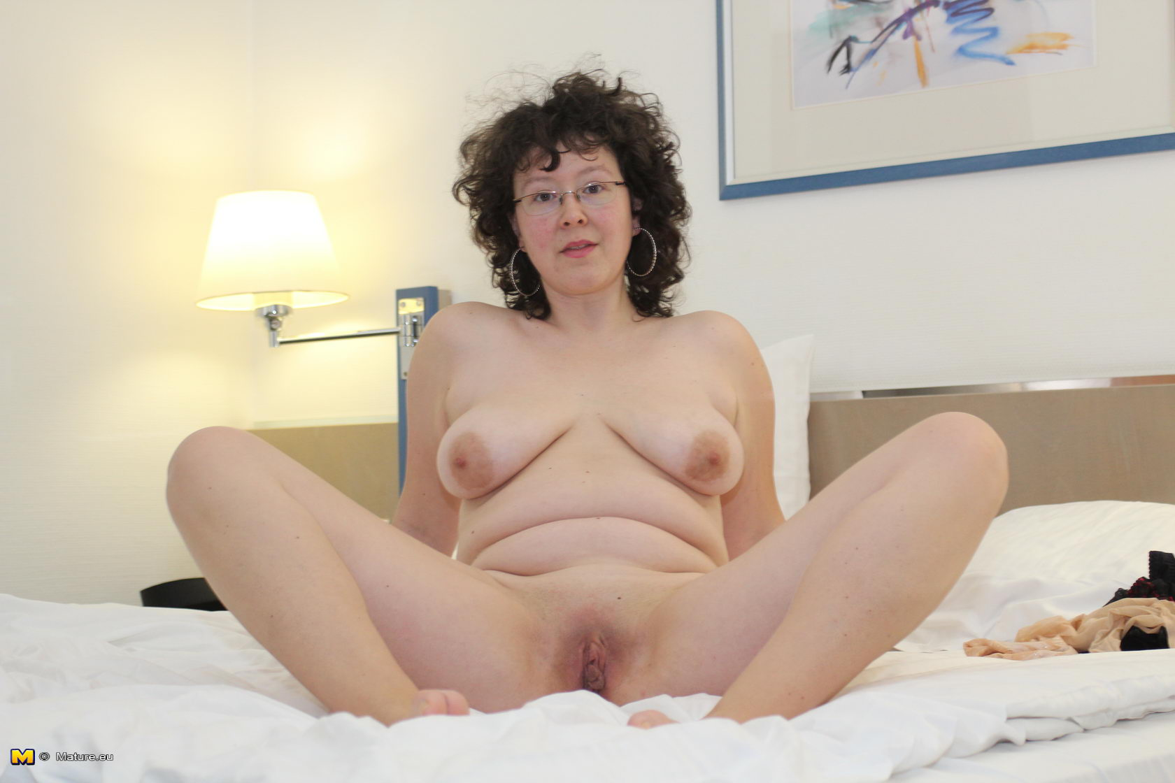 British nasty slut in a lesbian scene with karen 1