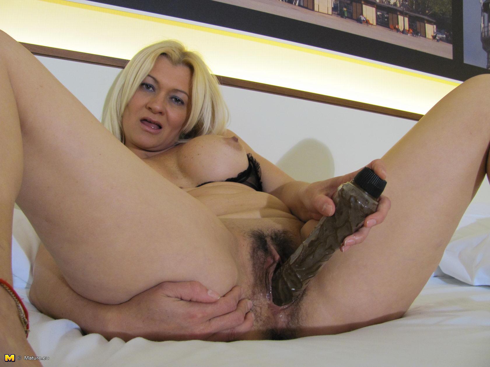 Русская зрелая блондинка в порно 25 фотография