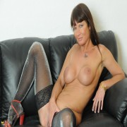 Hot MILF showing off her naughty ways