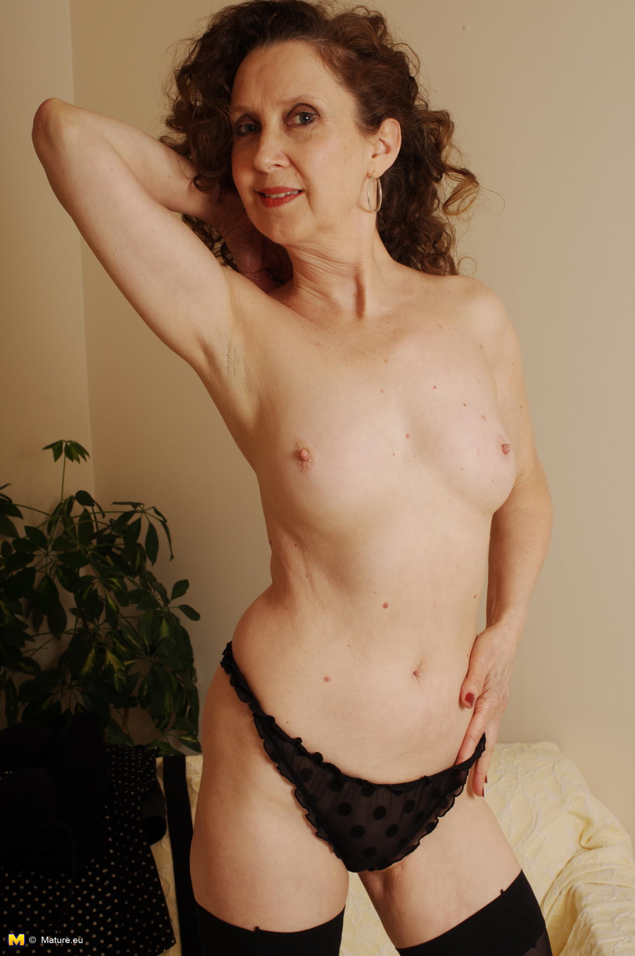 Hot in man naked shower