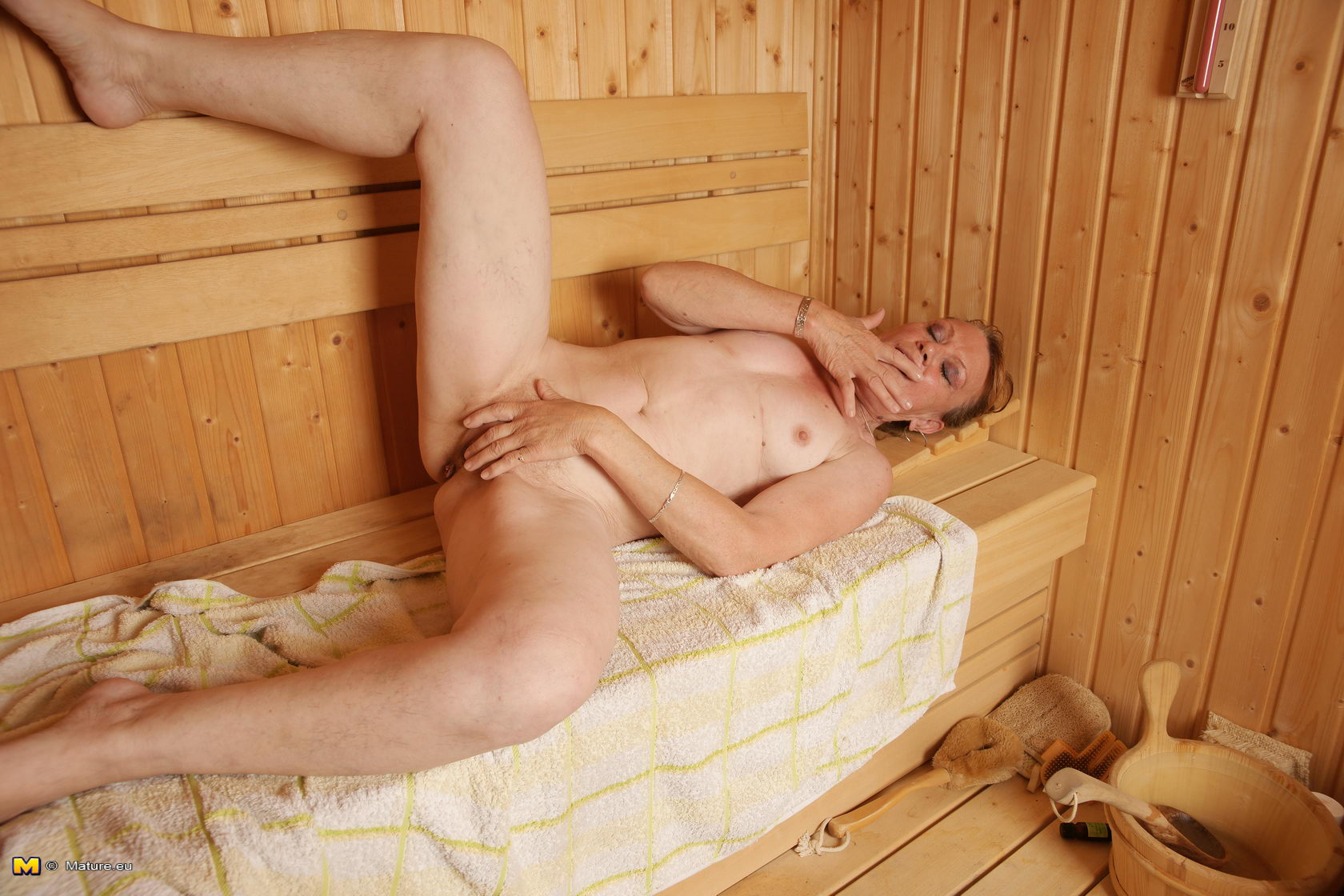 nice mature mature sauna