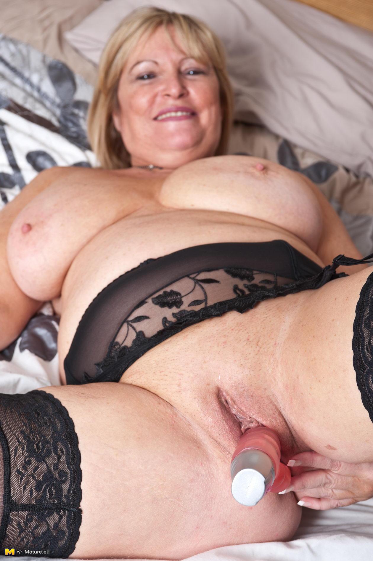 slut alone mature Horny playing