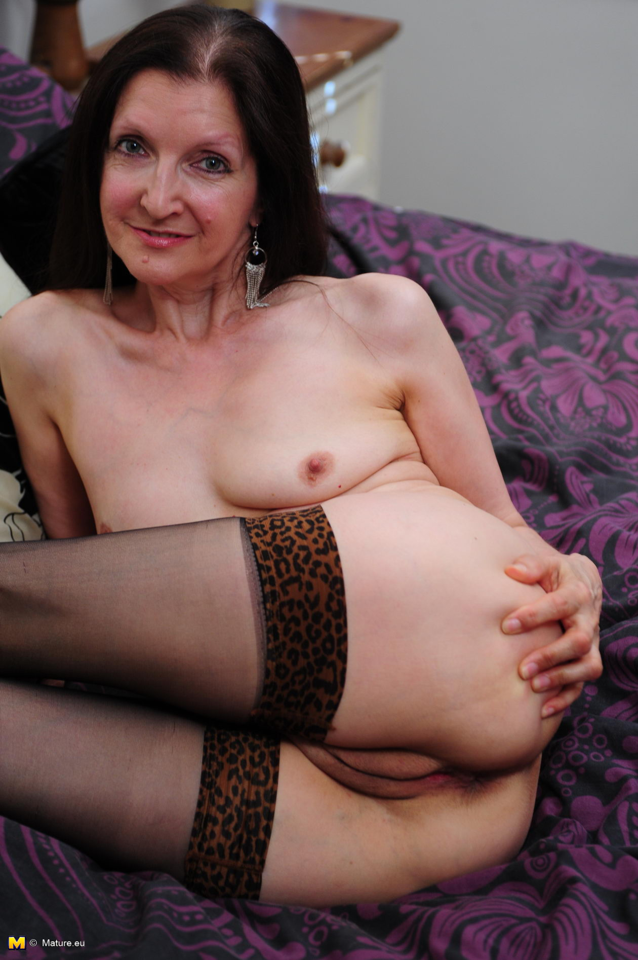 Ugly mom with flabby body amp tits amp guy 3