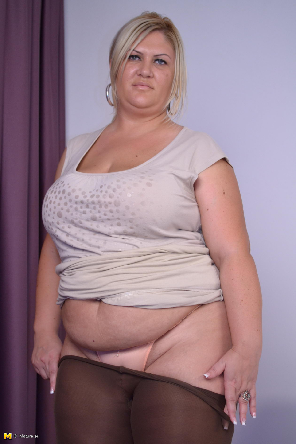 Fat chubby bbw mature mother mom fucked hard 1