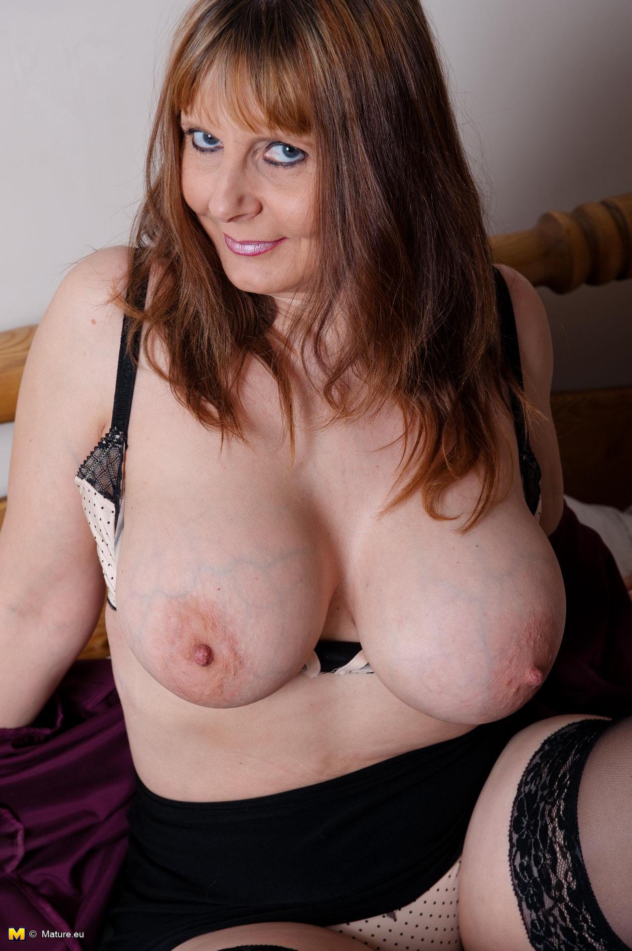 Bib mature boob tube