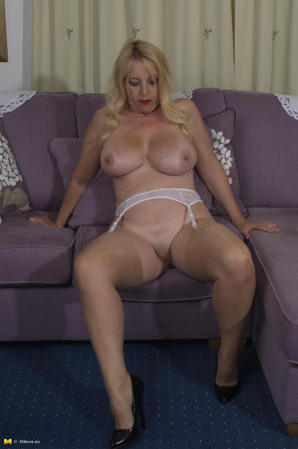Mature big tits teacher