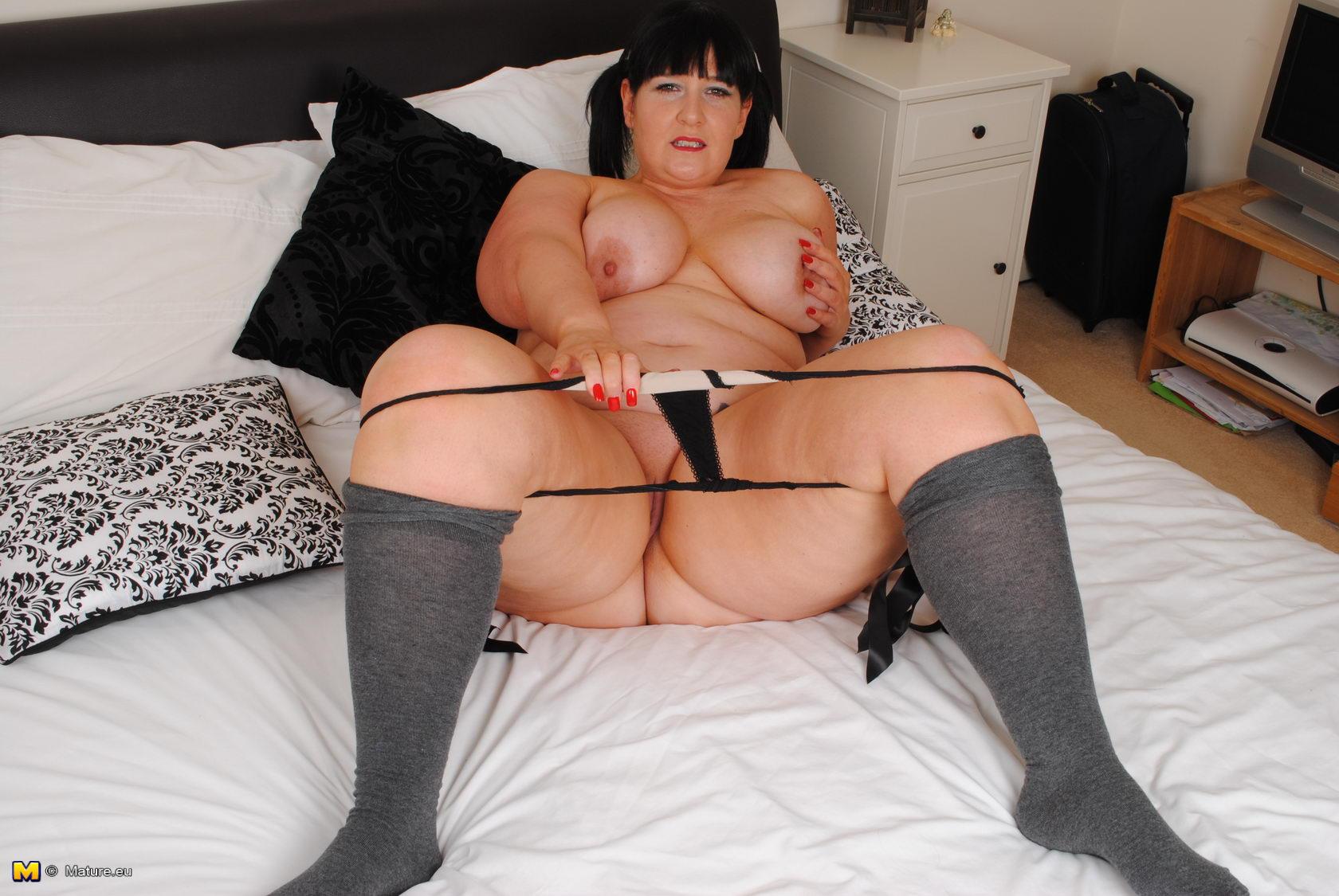 sex british Big having breasted images mature