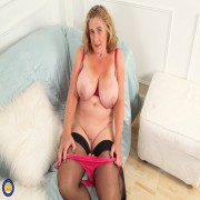 Naughty mature Camilla loves showing off her big natural tits