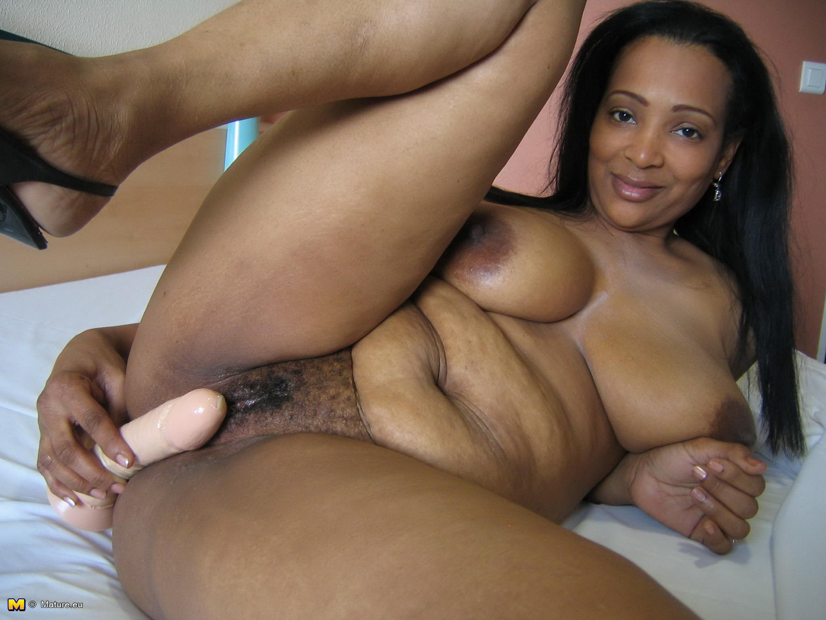 Black plump mature clips