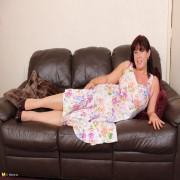 Hiry British housewife getting naughty