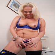 This British housewife loves to play alone